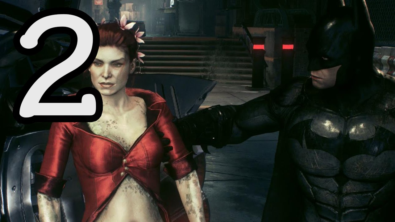 Batman: Arkham Knight Walkthrough Part 1 Poison Ivy - Let