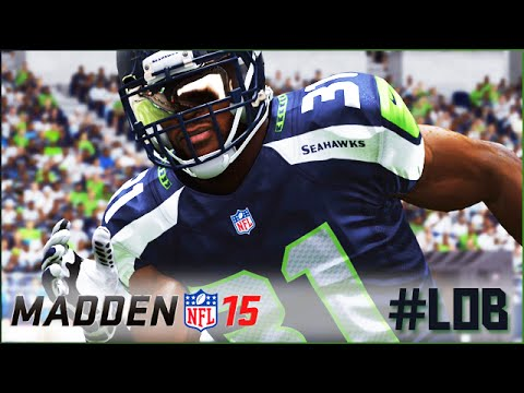 "Madden 15 - ""Legion Of Boom"" Defensive Player Lock Gameplay (Seahawks vs Lions PS4)"
