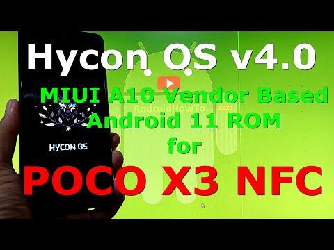 Hycon OS v4.0 for Poco X3 NFC (Surya) Android 11