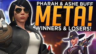 Overwatch: HUGE Pharah & Ashe BUFFS! - NEW Meta Winners & Losers
