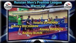 Dmitry OVCHAROV, Alexey SMIRNOV, Andrey BUKIN, Valeriy ZONENKO Warm-Up