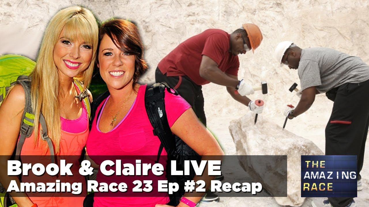 On the amazing race 23 episode 2 recap zip it bingo youtube