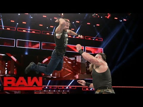 Dean Ambrose vs. Braun Strowman: Raw, Sept. 25, 2017
