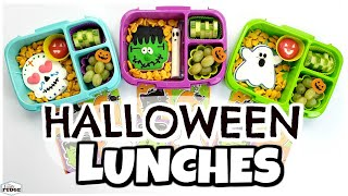 School Lunch Ideas For HALLOWEEN 🎃 QUICK & EASY Lunches For Kids
