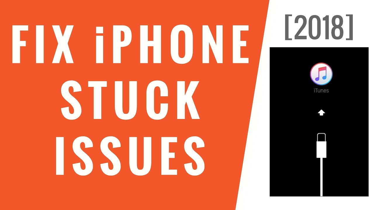 One Click to Fix all iPhone Stuck Issues! [2018]