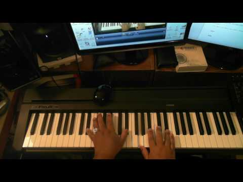 If You Were Here Tonight (by Alexander O'Neal) - Piano Tutorial