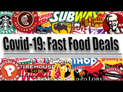 Best Fast Food Deals During The Corona Virus: April 2020