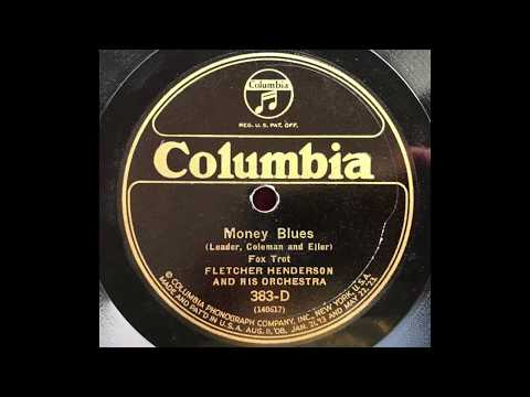 Money Blues - Fletcher Henderson & His Orchestra (Louis Armstrong, Coleman Hawkins) (1925)