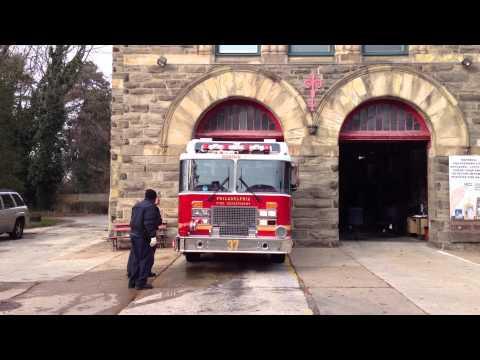 Philadelphia Fire Department New Engine 37
