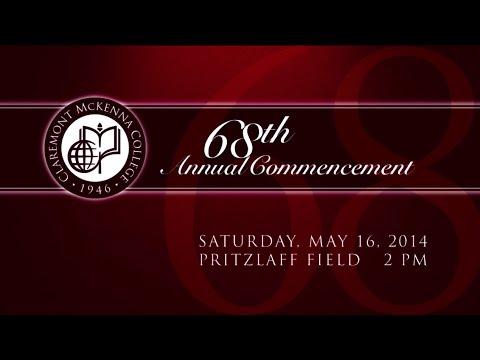 Claremont McKenna College Commencement 2015