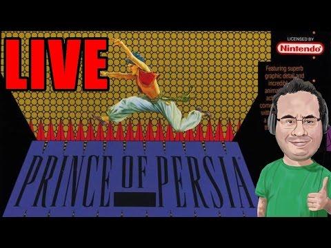 LIVE - Prince of Persia de SNES - Bora Zerar ou morrer tentando?