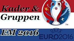NIEDERLANDE Europameisterschaft Kader & Gruppen - EM 2016 FRANKREICH (Nominierung)◄NED #05►