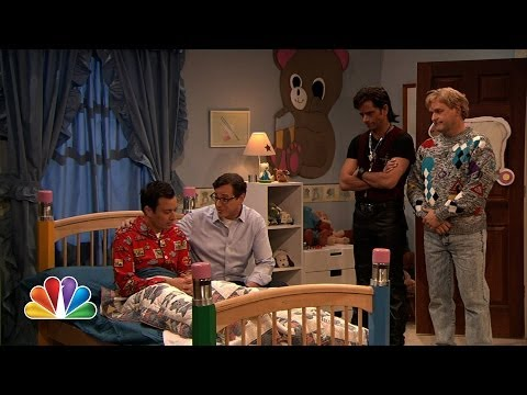"""Full House"" Guys Reunite On Jimmy Fallon (Late Night with Jimmy Fallon)"