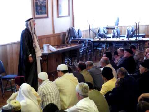 الدكتور  ضاري  العاصي  صلاة العيد  كولونا 2009 -11-