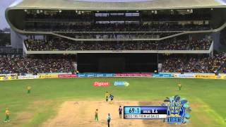 Highlights Match 14: Barbados Tridents v Guyana Amazon Warriors