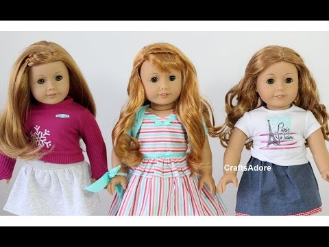 Opening American Girl Doll Maryellen Larkin BeForever 1950s With Accessories ~HD~