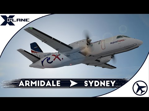 Regional por Australia | Saab 340A [Leading Edge] | XPlane 10 [IVAO]