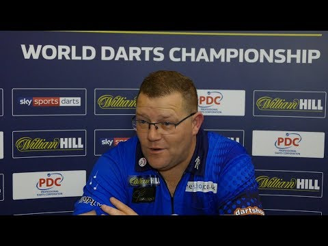 Steve West 'I'll take what I've done and enjoy that' |William Hill World Darts Championships