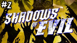 Black Ops 3 Zombies: Shadows Of Evil First Run #2 - NO WAY OUT (Call Of Duty)
