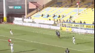 13.Hafta | Bucaspor'umuz 1-1 Gaziantep BBSK | Maç Özeti | PTT 1.Lig (2014-2015)