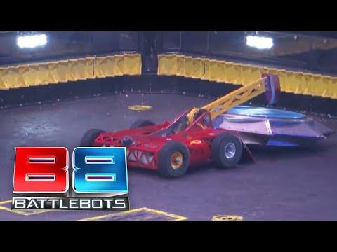 BattleBots Basement Tapes: EXTINGUISHER Vs. BATTLESAW