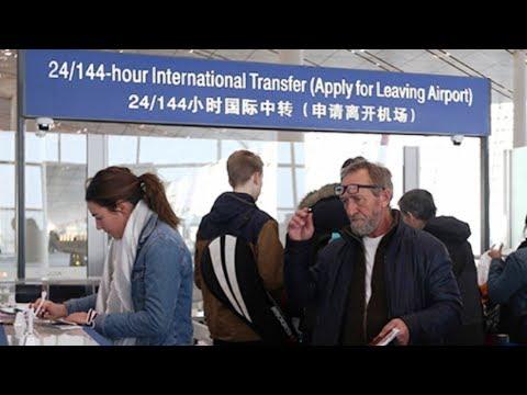 China allows 6 Day Visa Free Access to People transiting through Beijing - Jan 2018