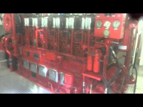 Start ABC dieselmotor, 1800 pk – 1324 kW/ 1000 rpm.