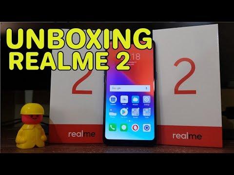 Unboxing Realme 2 Blue Diamond, RAM 4/64 Indonesia