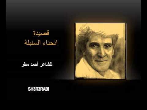 قصيدة انحناء السنبلة ..... للشاعر السياسي المبدع احمد مطر