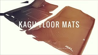 3D Maxpider Kagu Floor Mats - Sporty And Stylish! What's Not To Like?