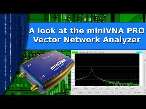 Ham Radio - A look at the miniVNA PRO Vector Network Analyzer