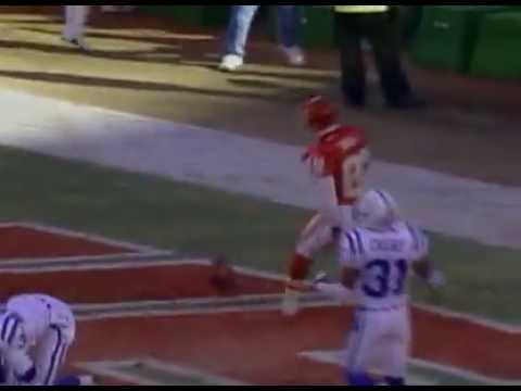 Dante Hall - 92 Yard Kickoff Return - 2003 Playoffs