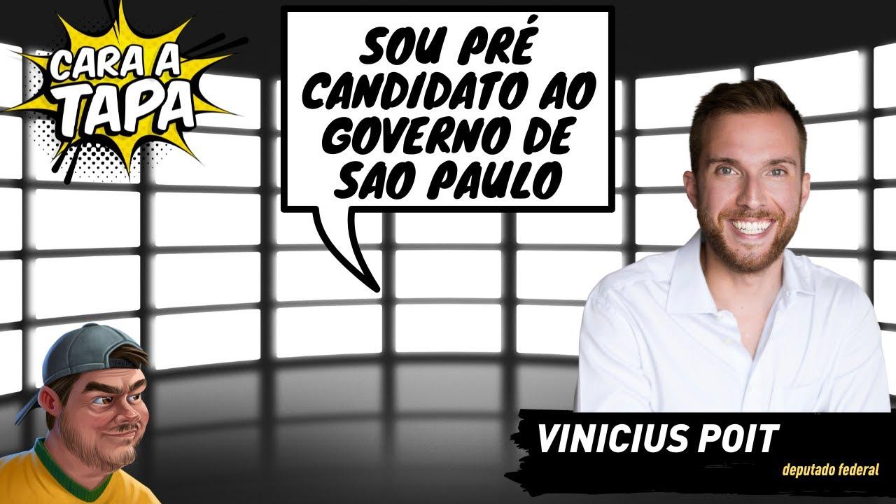 "Vinicius Poit se lança pra governador e ""aceita"" Moro pra presidente"