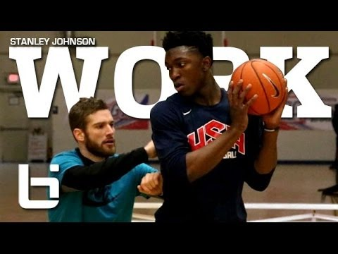 "Stanley Johnson ""Work"" 