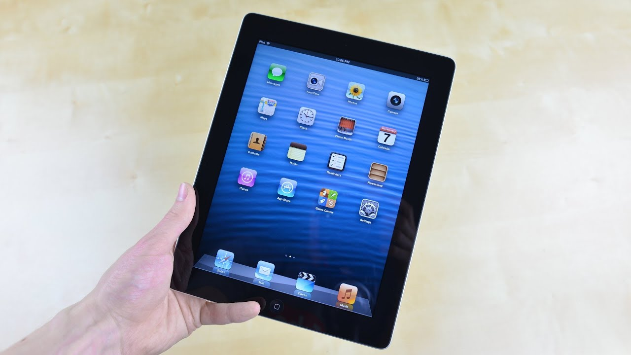 ipad 4 review new ipad 4 2012 hands on review youtube. Black Bedroom Furniture Sets. Home Design Ideas