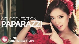 Video GIRLS' GENERATION - PAPARAZZI (Line Distribution) download MP3, 3GP, MP4, WEBM, AVI, FLV November 2018
