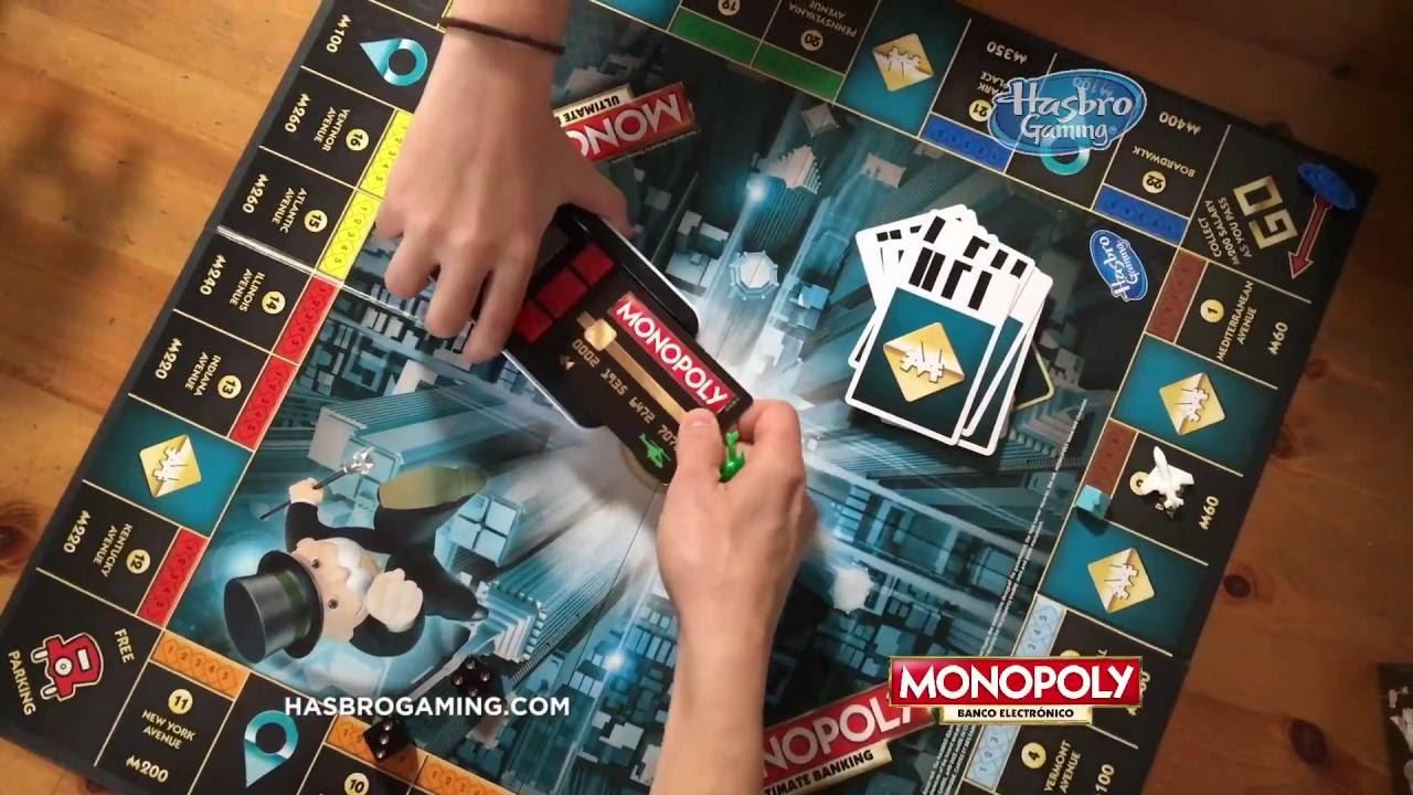 Monopoly Nuevo Monopoly Banco Electronico Es Youtube