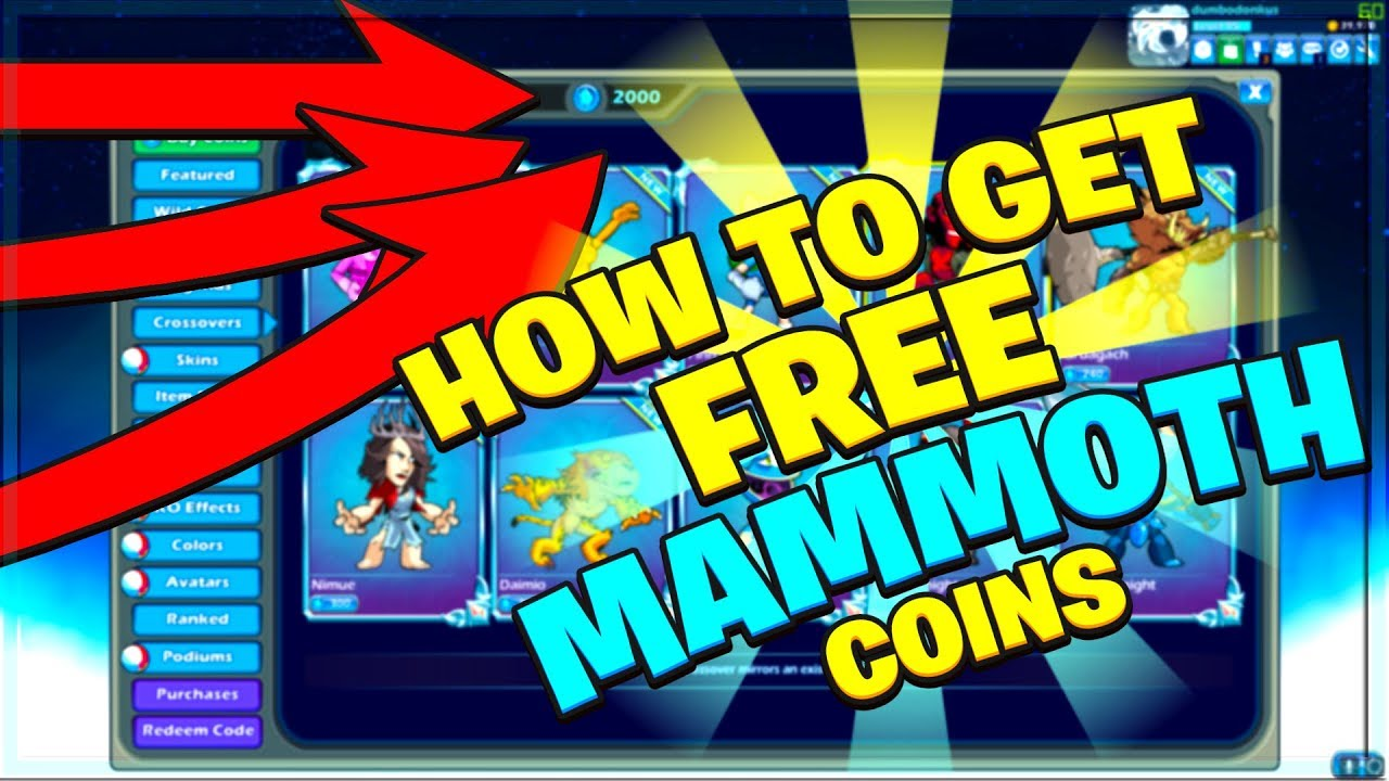 HOW TO GET FREE BRAWLHALLA MAMMOTH COINS (2019 WORKING 100% LEGIT)