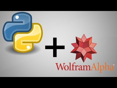 How To Use The Wolfram Alpha API In Python