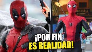 ¡ES REAL! Deadpool y Spider-Man podrían hacer gran CROSSOVER en su tercera parte