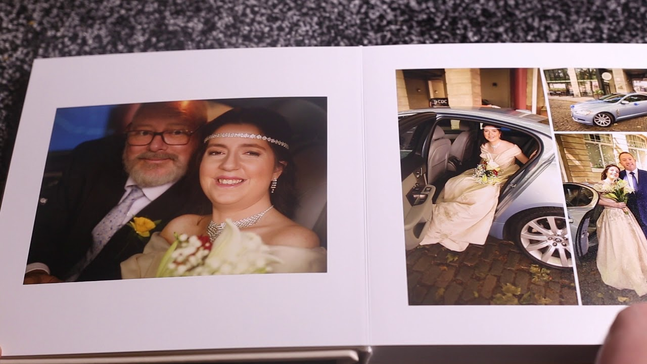 Custom Wedding Album Video Demo
