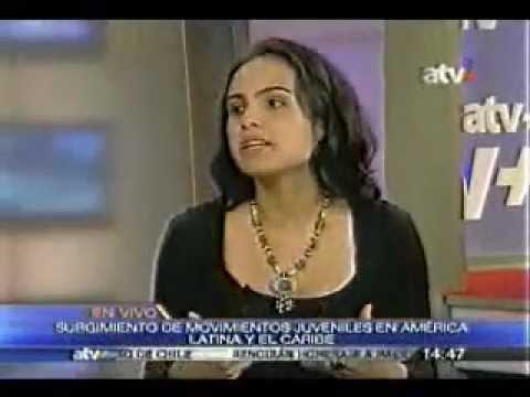 Paola Galindo y René Galarreta: Foro Regional Movimientos Juveniles en América Latina. ATV. Perú