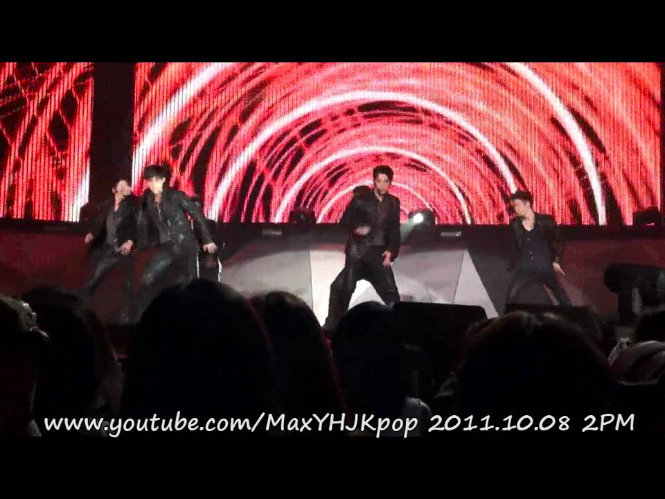 Download 111008 2PM  Heartbeat -HANDS UP ASIA TOUR in TAIPEI 2011
