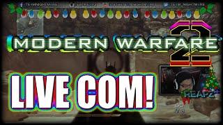 Mw2 - Killstreaks In CoD Died, Holidays & Random Talk! (Mw2 Live Multiplayer Gameplay Commentary)
