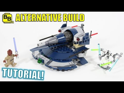 LEGO STAR WARS 75199 ALTERNATIVE BUILD DROID SCOUT AAT!!