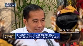 Bertemu Tokoh Papua, Presiden Jokowi Janji Bangun Istana