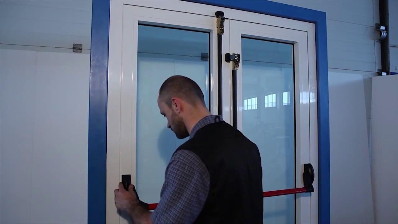 Installazione Maniglioni Antipanico Cisa Fast Youtube