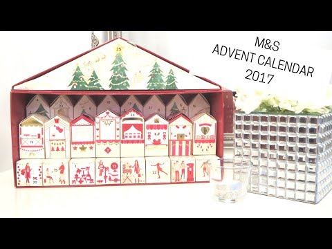 Marks and Spencers advent calender 2017