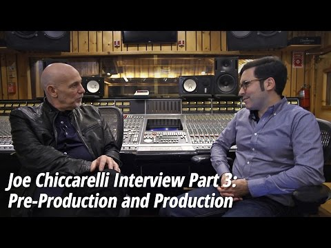 Joe Chiccarelli (The Shins, The White Stripes) Interview Part 3: Pre-Production and Production