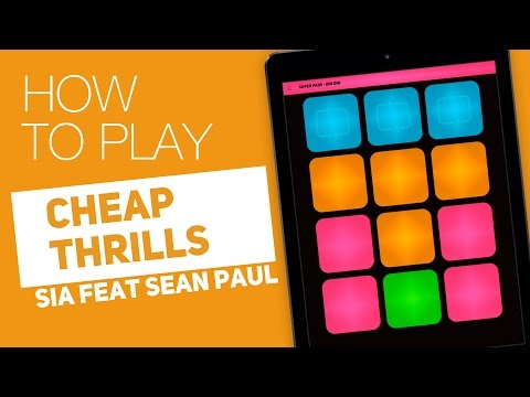 How to play: CHEAP THRILLS (SIA ft. Sean Paul) - SUPER PADS - Dim Dim kit